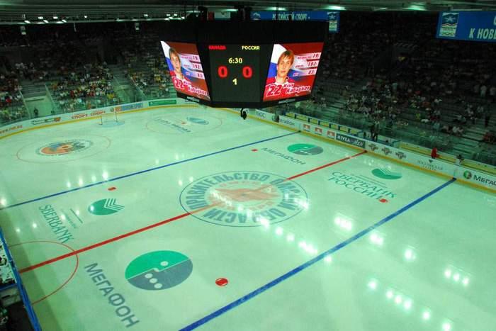 Арена Омск - вид внутри арены