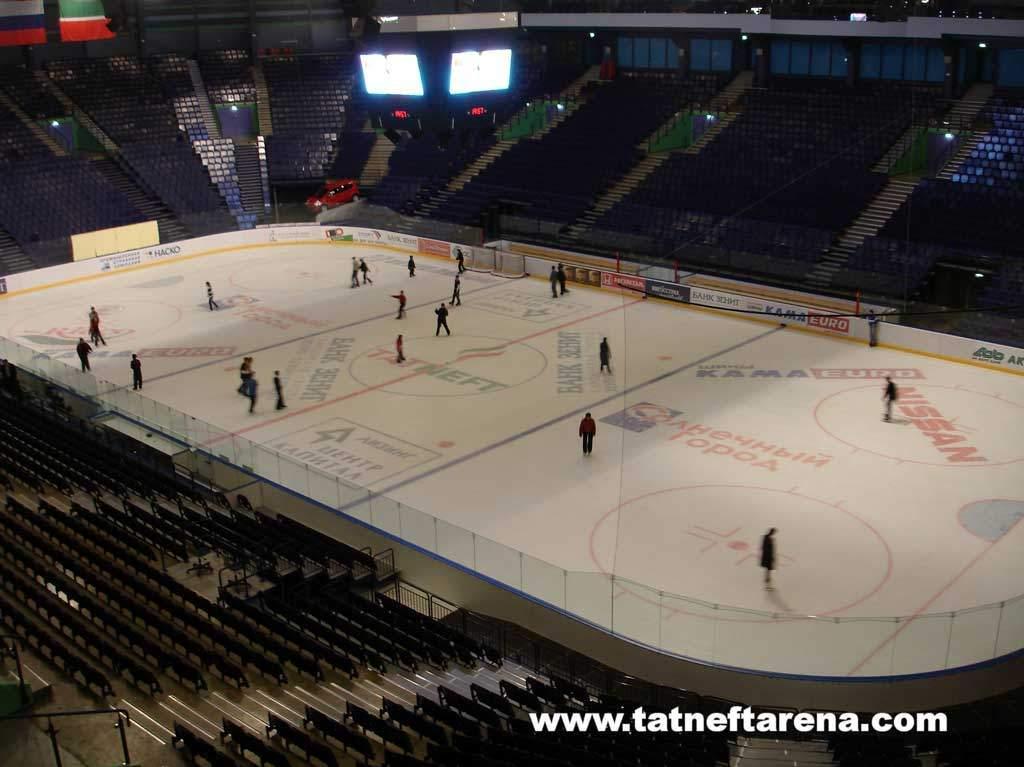 Татнефть-Арена - вид внутри арены
