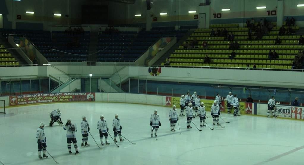 """ДС """"Казахстан"""" - вид внутри арены"""
