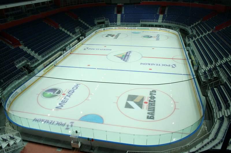 Уфа-Арена - вид внутри арены