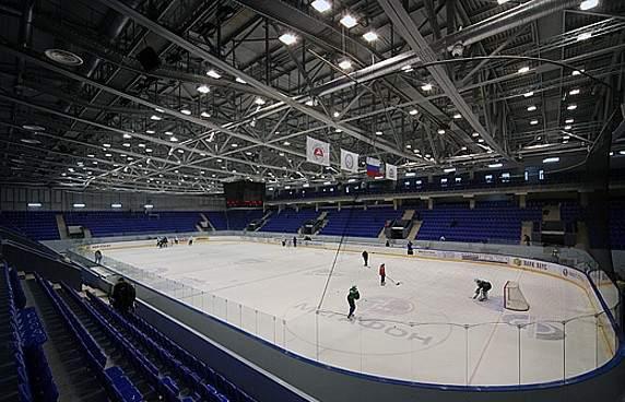 Нагорный дворец спорта профсоюзов - вид внутри арены