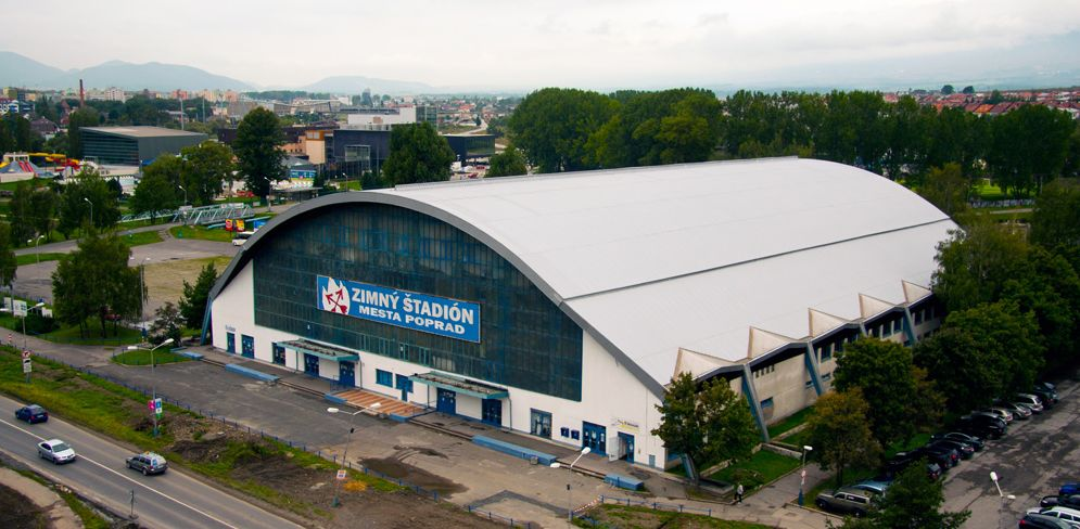 Зимний стадион города Попрад