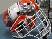 Доминик Гашек представил новый шлем [фото]