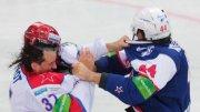 Бои КХЛ: Артюхин vs Веро [видео]